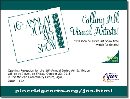 2015 JAS call for art